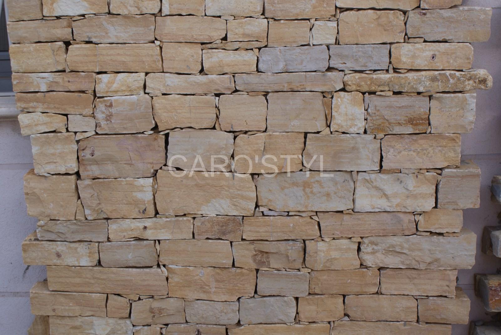 Mur En Pierre Naturelle toute la beauté des barrettes du lot, pierre naturelle à