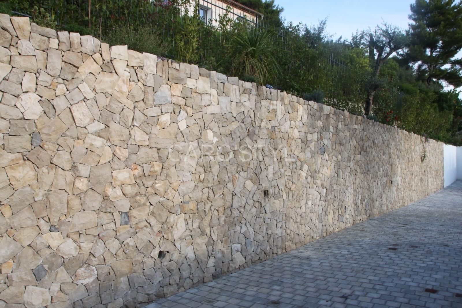 Comment Construire Un Mur En Pierre De Parement Pour
