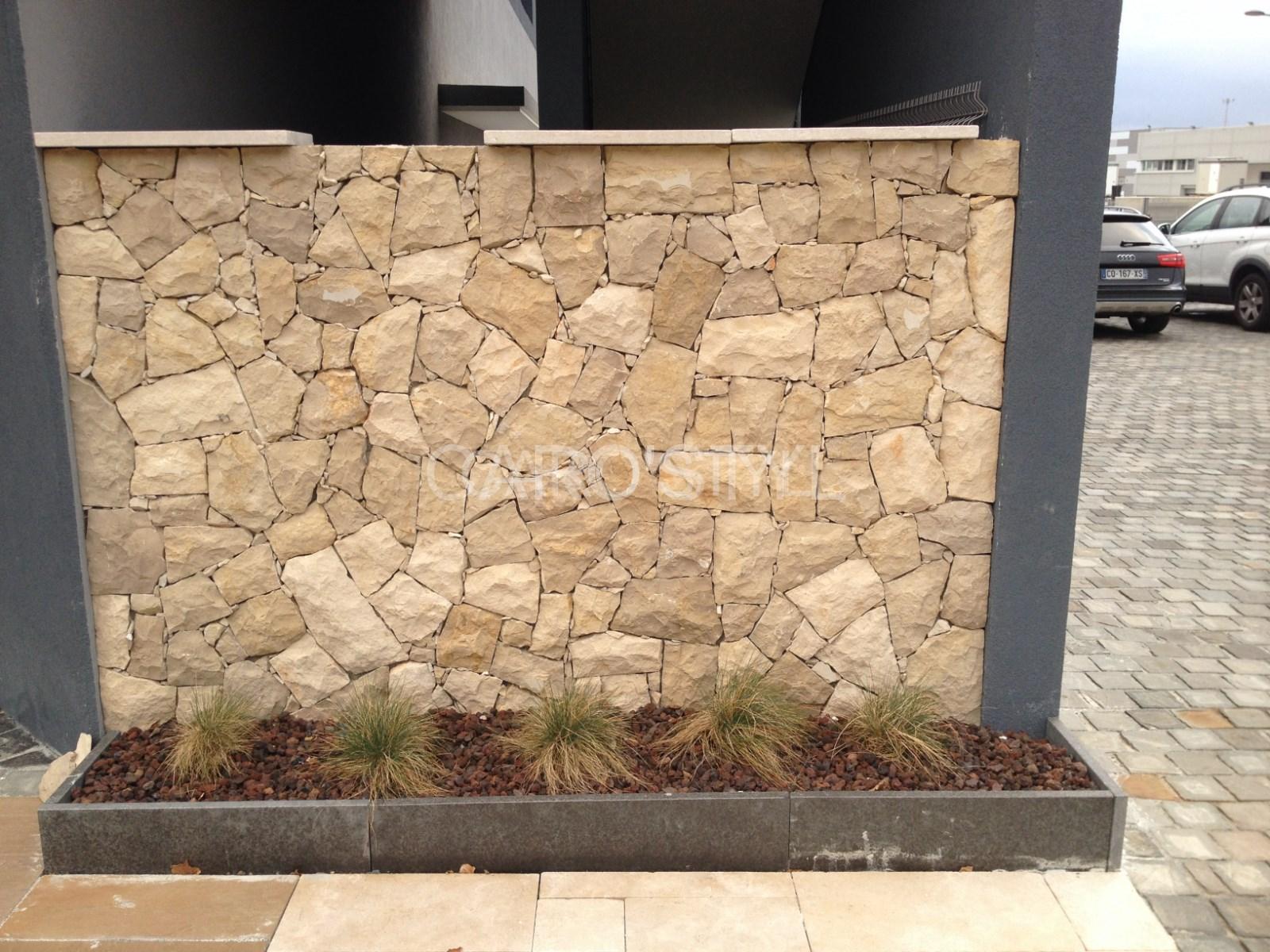Peindre Mur Pierre Exterieur comment construire un mur en pierre de parement, pour
