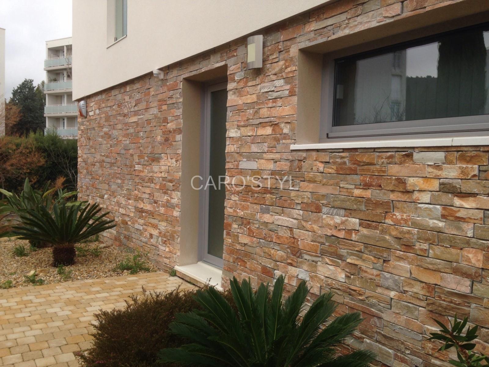Pierre Naturelle Pour Facade habiller un mur extérieur ou intérieur en pierre naturelle
