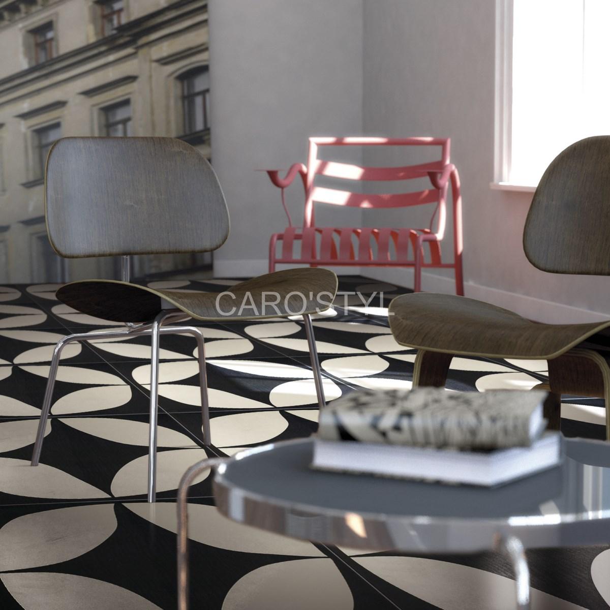 Carrelage Gres Cerame Imitation Ciment nouveau un carrelage stylé, imitation carreau de ciment pour