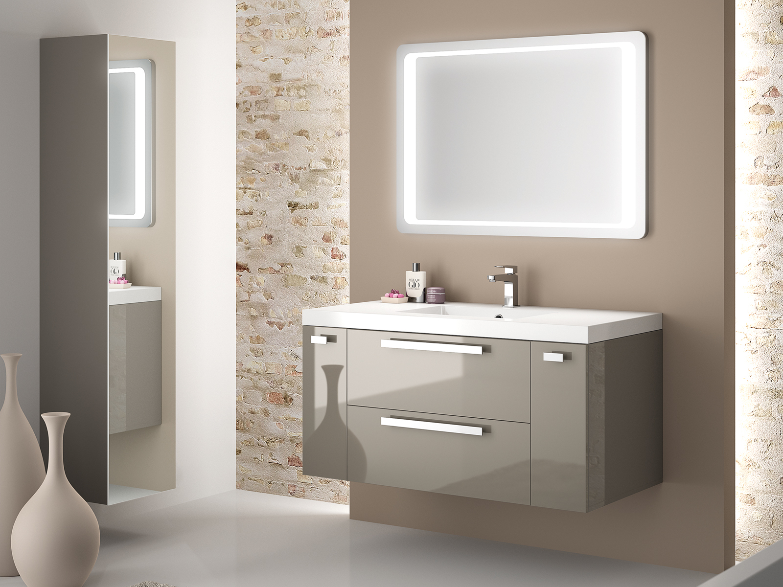 Mobilier de salle de bains aux multiples facettes - Magasin de