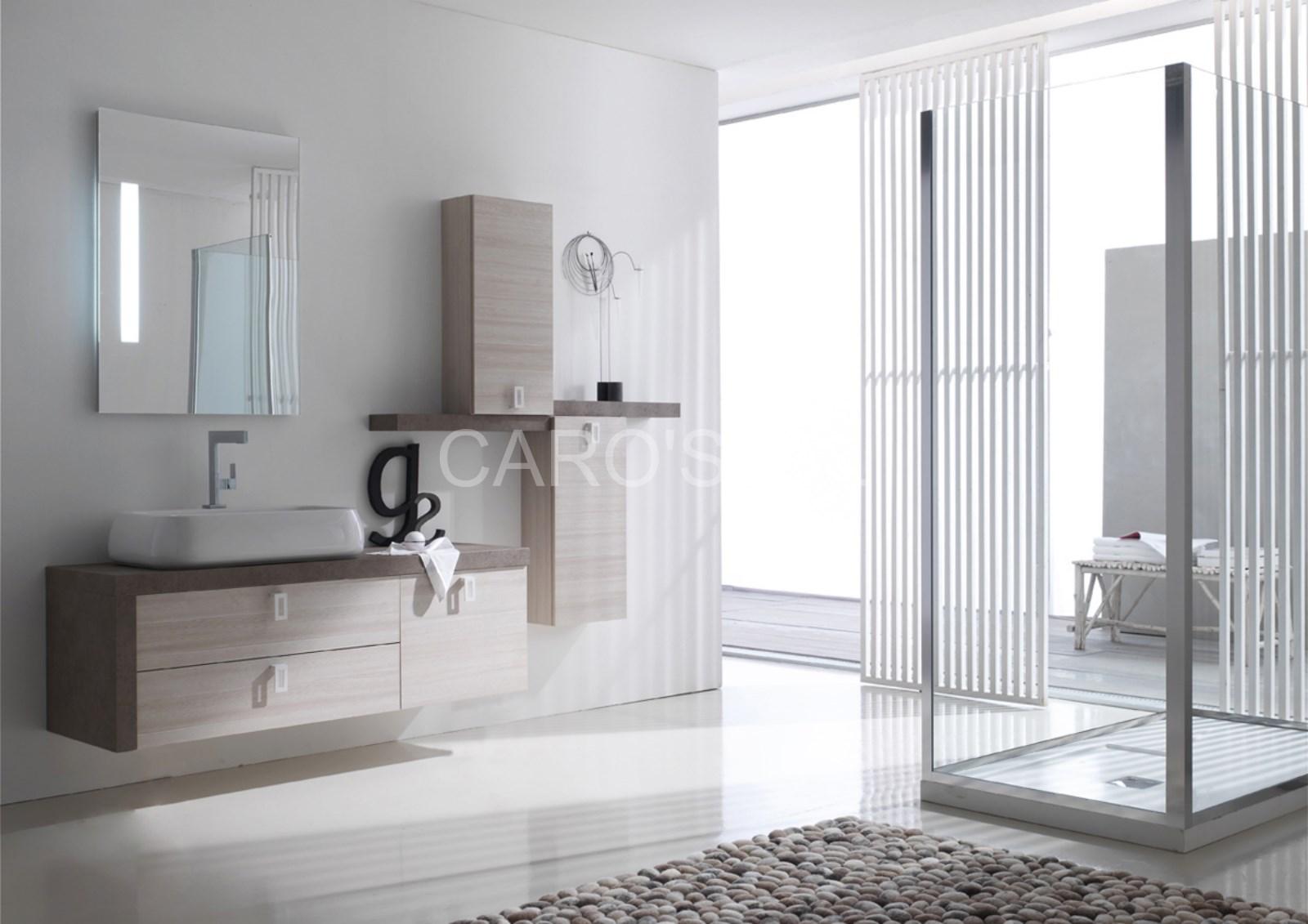 Ensemble de salle de bains composable magasin de carrelage pierre naturelle salle de bain - Sol salle de bain jonc de mer ...