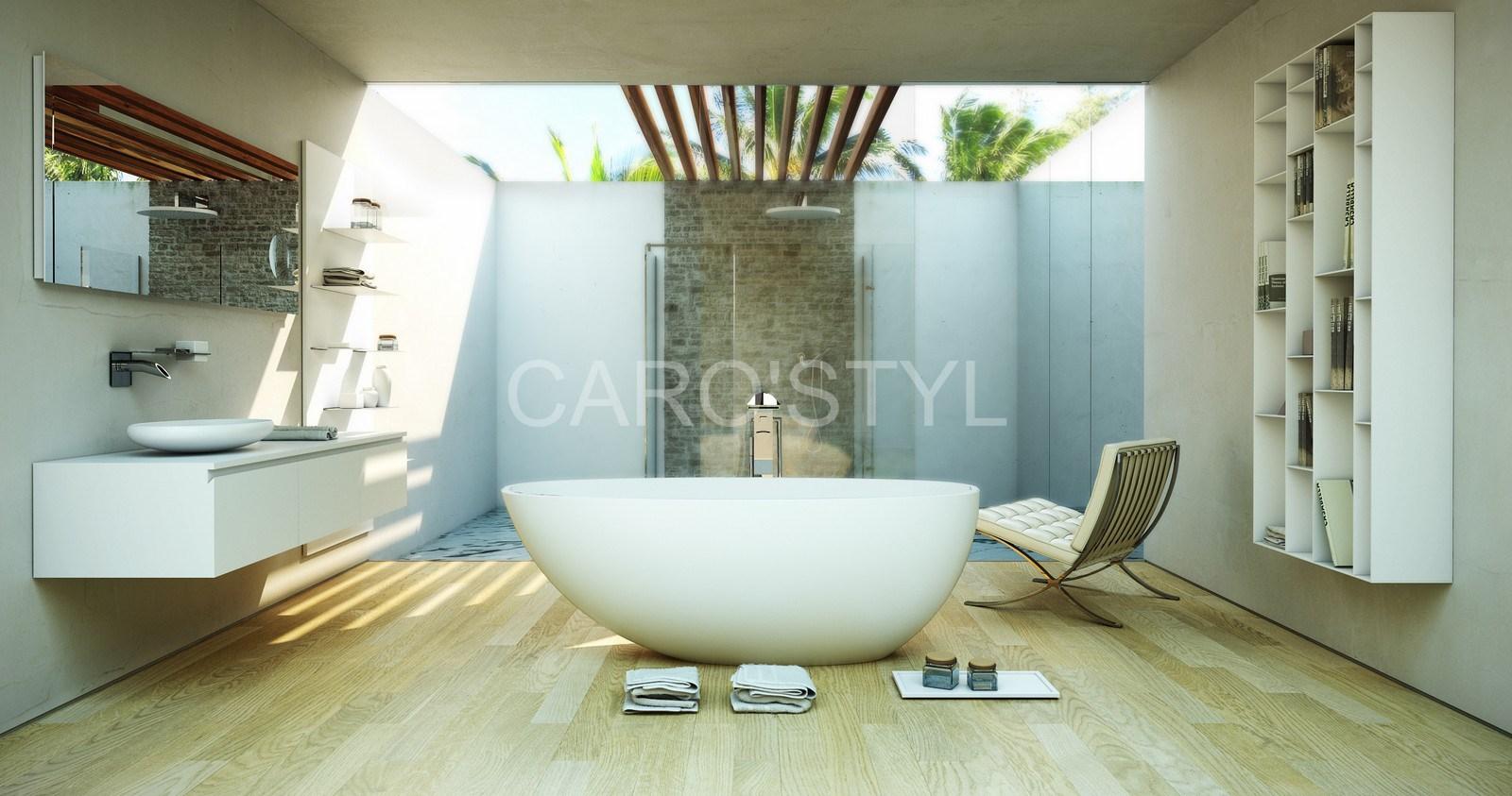 baignoire ilot - - Magasin de carrelage, pierre naturelle ...